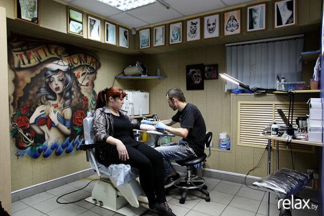 Салон татуировки Joker Tattoo в Минске